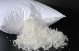Как постирать перьевые подушки в стиральной машине?