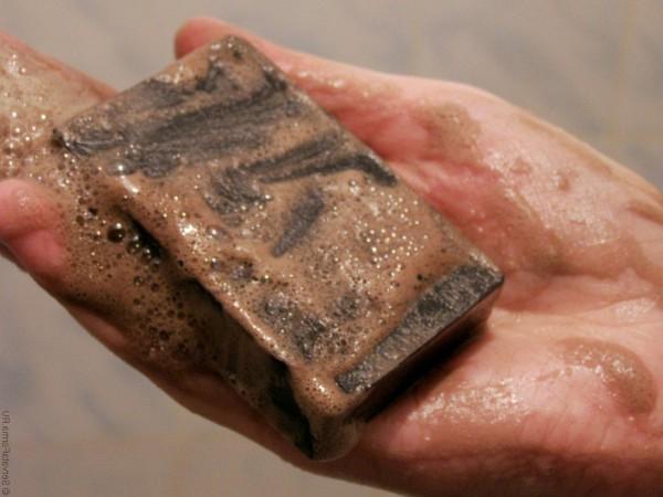 Мокрое дегтярное мыло