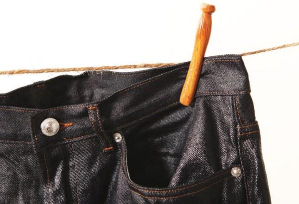 Сушка джинсовых штанов