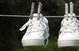 Сушим кроссовки после стирки – просто и быстро