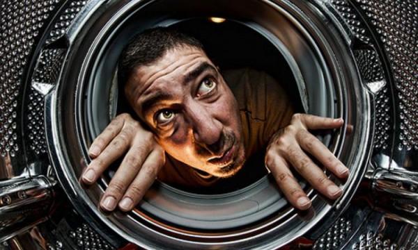 Внутренная часть стиральной машины