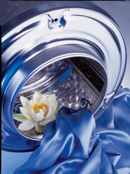 Цветок в стиральной машине