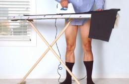 Глажка брюк: секрет ровных и прочных стрелок