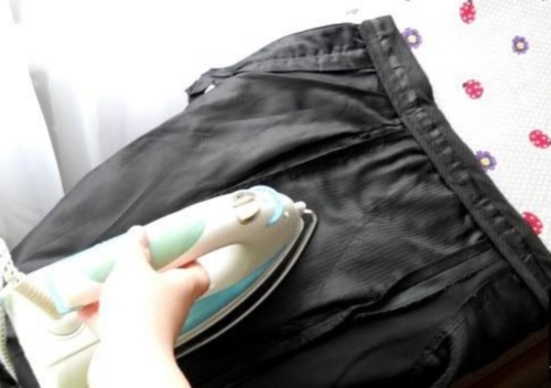 Глажка внутренней стороны брюк