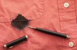 Эффективные способы удаления с одежды чернил