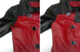 Как заклеить куртку из кожи самостоятельно?