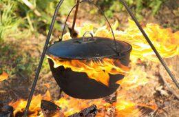 11 способов очистить казан от нагара и ржавчины