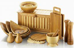 Экологически чистая посуда из бамбукового волокна