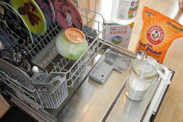 Моющие средства для посудомоечных машин своими руками