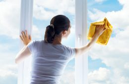 Моем окна без разводов в домашних условиях