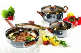 Посуда из нержавеющей стали: рекомендации по выбору и уходу