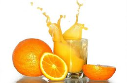 Как быстро вывести пятно от апельсина?