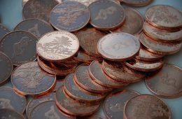 Как почистить старую медную монету от налета?