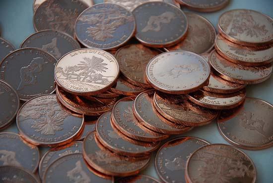 Как очистить медные монеты в