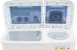 Стиральная машинка полуавтомат: преимущества и недостатки