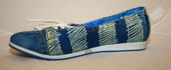 Обувь из джинсовой ткани: как растянуть в домашних условиях