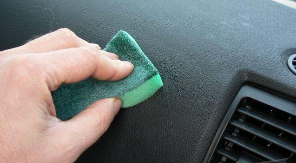 Пластик в авто силиконом