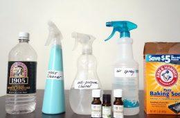 Как сделать чистящие средства